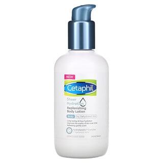 Cetaphil, Replenishing Body Lotion, Sheer Hydration, 8 fl oz (236 ml)