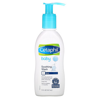 Cetaphil, Baby, Soothing Wash, 5 fl oz (147 ml)