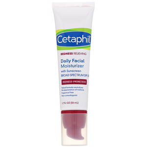 Сетафил, Redness Relieving, Daily Facial Moisturizer, SPF 20, Neutral Tint, 1.7 fl oz (50 ml) отзывы покупателей