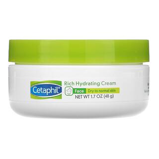 Cetaphil, интенсивно увлажняющий ночной крем с гиалуроновой кислотой, 48г (1,7унции)
