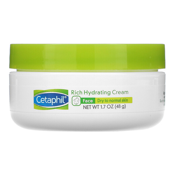 Rich Hydrating Cream with Hyaluronic Acid, 1.7 oz (48 g)