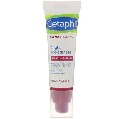 Купить Cetaphil Redness Relieving, Night Moisturizer, 1.7 oz (50 g)