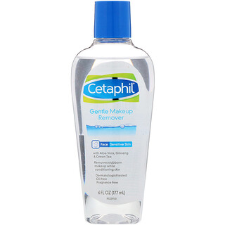 Cetaphil, Gentle Makeup Remover, 6 fl oz (177 ml)