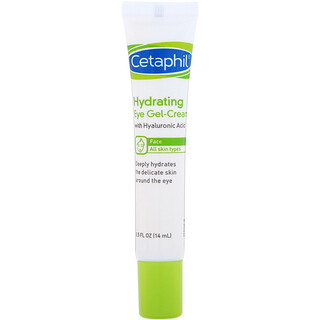 Cetaphil, 透明质酸保湿眼霜,0.5 液量盎司(14 毫升)