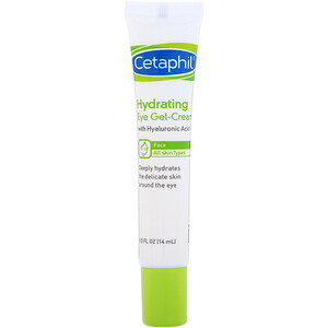 Сетафил, Hydrating Eye Gel-Cream with Hyaluronic Acid, 0.5 fl oz (14 ml) отзывы покупателей