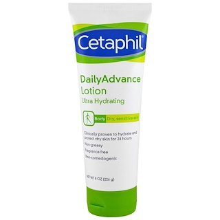 Cetaphil, DailyAdvance Lotion, Ultra Hydrating, 8 oz (226 g)
