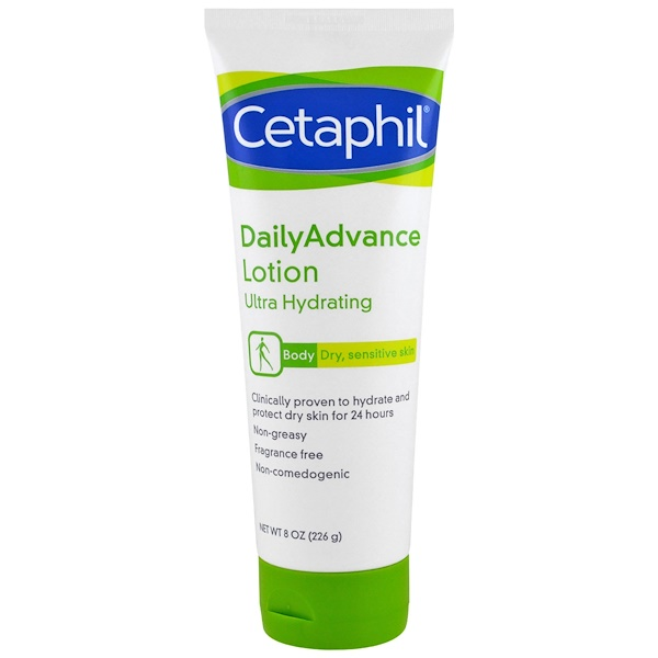 Cetaphil, Lotion DailyAdvance, Ultra Hydratante, 8 oz (226 g)