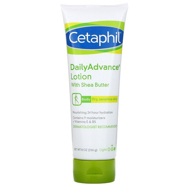 Cetaphil, DailyAdvance Lotion with Shea Butter, 8 oz (226 g)