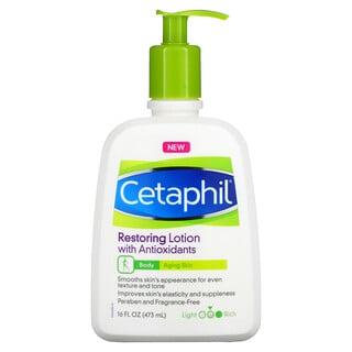 Cetaphil, Restoring Lotion with Antioxidants, Medium, Fragrance Free, 16 fl oz (473 ml)