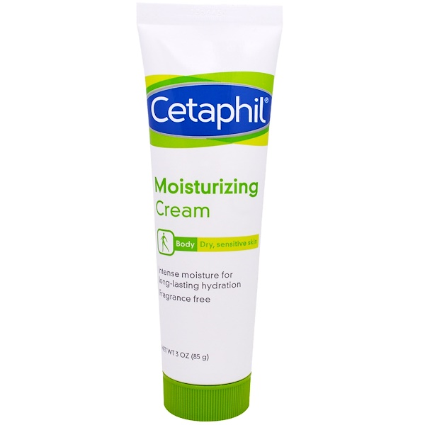 Cetaphil, Moisturizing Cream, 3 oz (85 g) (Discontinued Item)