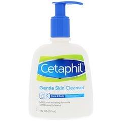 Cetaphil, ジェントルスキンクレンザー, 8液量オンス (237 ml)
