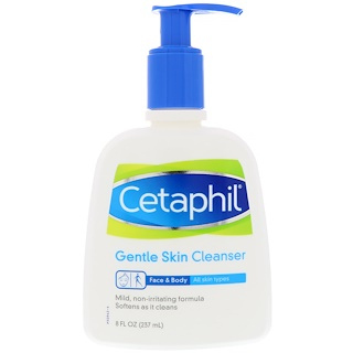 Cetaphil, Gentle Skin Cleanser, 8 fl oz (237 ml)