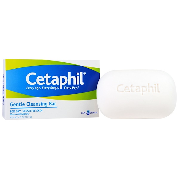 Cetaphil, Gentle Cleansing Bar, 4.5 oz (127 g)