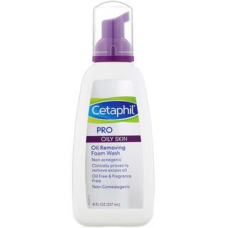 Cetaphil, Pro, Oil Removing Foam Wash, Oily Skin, 8 fl oz (237 ml)