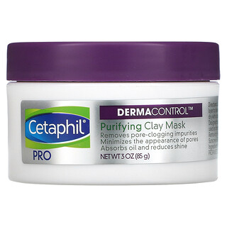 Cetaphil, Pro Derma Control, Purifying Clay Beauty Mask, 3 oz (85 g)