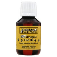 Charlie & Frank, Pet Omega-3 Fish Oil, For Cats & Dogs, 3.3 fl. oz. (100 ml)