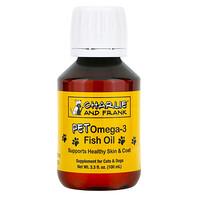 Charlie & Frank, Pet Omega-3 Fish Oil, Omega-3-Fischöl für Katzen und Hunde, 100ml (3,3fl.oz.)