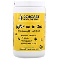 Dog Four-in-One, 120мягких жевательных таблеток - фото