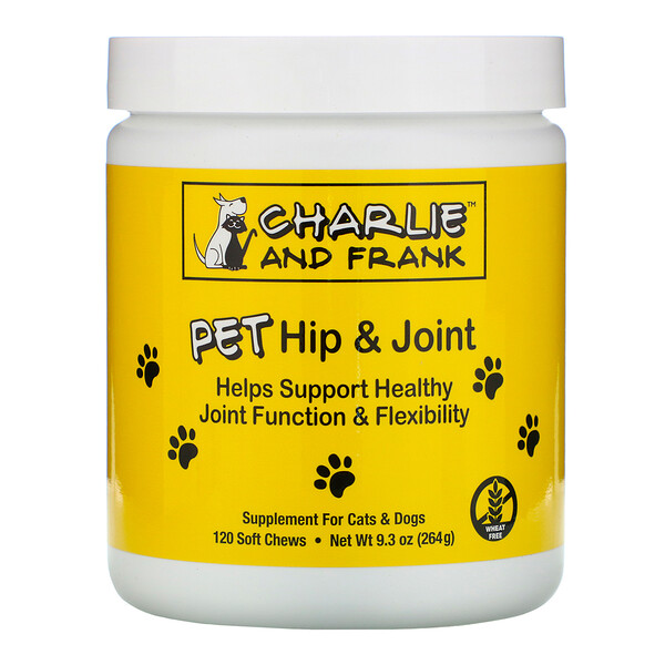 Pet Hip & Joint, For Cats & Dogs, 120 Soft Chews