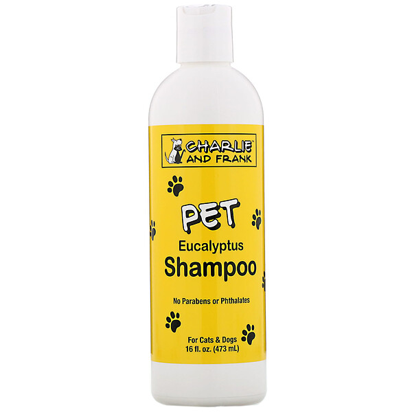 Pet Shampoo, Eucalyptus, 16 fl oz (473 ml)