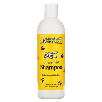 Купить Charlie & Frank Шампунь для животных, без запаха, 473мл (16жидк.унций)