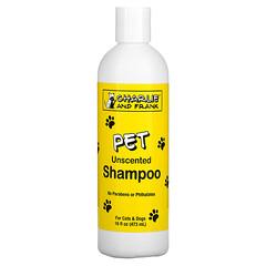 Charlie & Frank, Pet Shampoo, Unscented, 16 fl oz (473 ml)