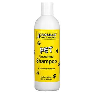 Charlie & Frank, 寵物洗髮露,無香型,16 液量盎司(473 毫升)