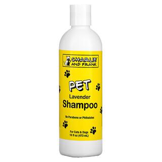 Charlie & Frank, 寵物洗髮水,薰衣花草,16 液量盎司(473 毫升)
