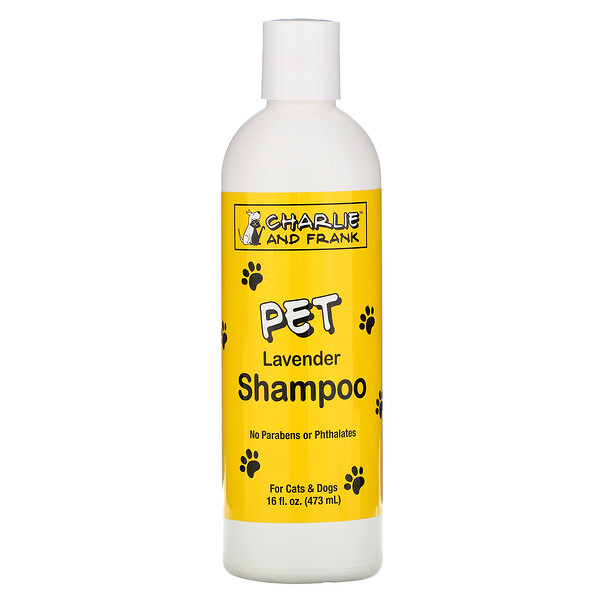 Pet Shampoo, Lavender, 16 fl oz (473 ml)