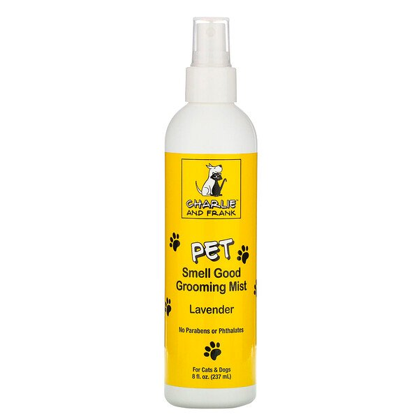 Pet Smell Good Grooming Mist, Lavender, 8 fl oz (237 ml)