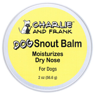 Charlie & Frank, 寵物狗專用鼻頭膏,2 盎司(56.6 克)
