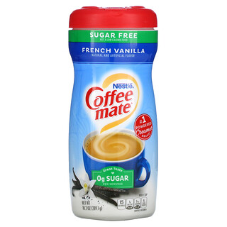 Coffee Mate, Powder Coffee Creamer, Sugar Free, French Vanilla, 10.2 oz (289.1 g)