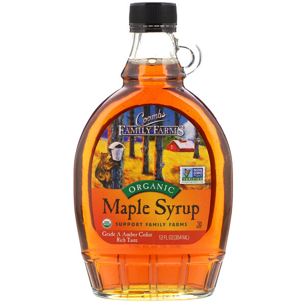 Coombs Family Farms, Organic Maple Syrup, 12 fl oz (354 ml) (Discontinued Item)