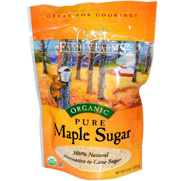 Coombs Family Farms, Organic, Pure Maple Sugar, 6 oz (170.1 g) (Discontinued Item)