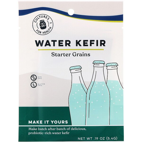 Cultures for Health, Water Kefir , 1 Packet, .19 oz (5.4 g)