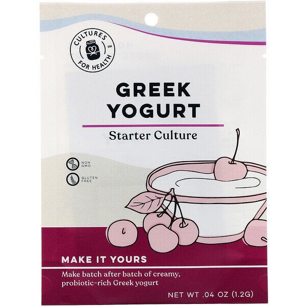 Greek Yogurt, 2 Packets, .04 oz (1.2 g)