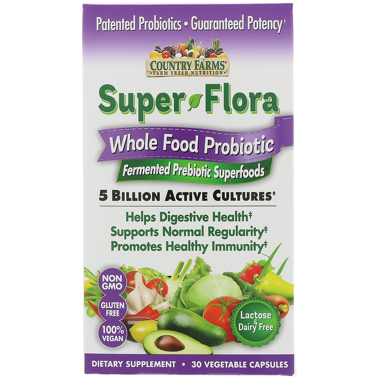 Country Farms Super Flora Whole Food Probiotic Reviews