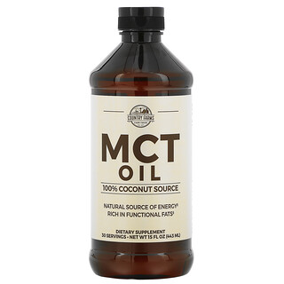 Country Farms, MCT Oil, 100% Coconut Source, 15 fl oz (443 ml)