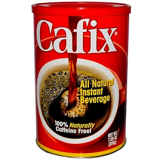 Cafix, All Natural Instant Beverage, Caffeine Free, 7.05 oz (200 g)