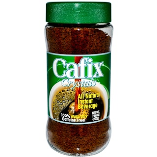 Cafix, All Natural Instant Beverage Crystals, Caffeine Free, 7.05 oz (200 g)