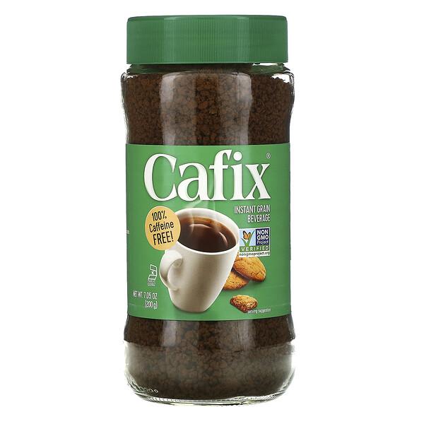 Cafix, Bebida de grano instantáneo, sin cafeína, 7,05 oz (200 g)