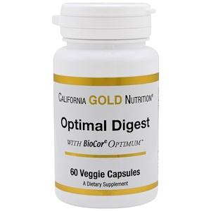 California Gold Nutrition, Optimal Digest, 60 VCaps отзывы