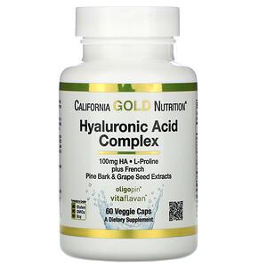 California Gold Nutrition, Hyaluronic Acid Complex, 60 Veggie Capsules отзывы покупателей