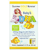 California Gold Nutrition, Baby's DHA, Ômega-3 com Vitamina D3, 1.050 mg, 59 ml (2 fl oz)