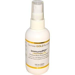 California Gold Nutrition, ImmunePEP Colostrum Polypeptides, 5.07 oz (150 ml) отзывы