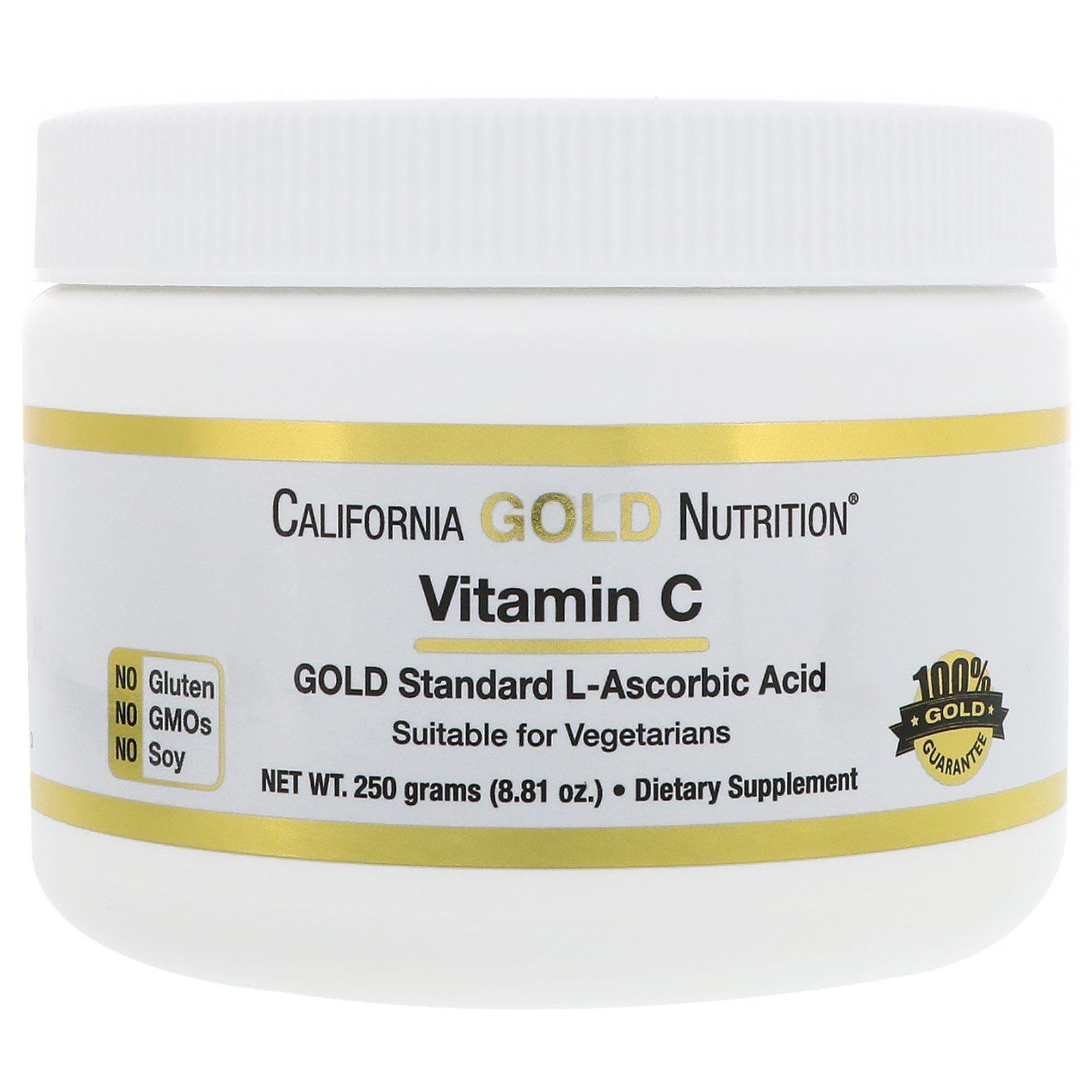 California Gold Nutrition, Витамин C, 8,81 унц. (250 г)