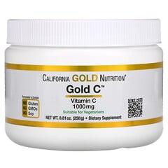 California Gold Nutrition, 黃金維生素 C 粉、維生素 C,1000 毫克,8.81 盎司(250 克)