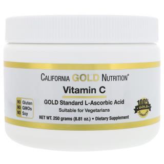 California Gold Nutrition, Vitamin C, 8.81 oz (250 g)