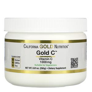 California Gold Nutrition, Gold C Powder, Vitamin C, 1,000 mg, 8.81 oz (250 g) отзывы покупателей