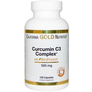 California Gold Nutrition, Curcumin C3 Complex、500 mg、120ベジタブルカプセル